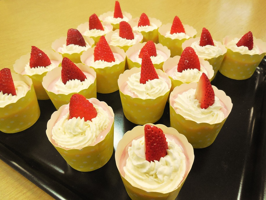 Yogurt cupcakes! Yum!