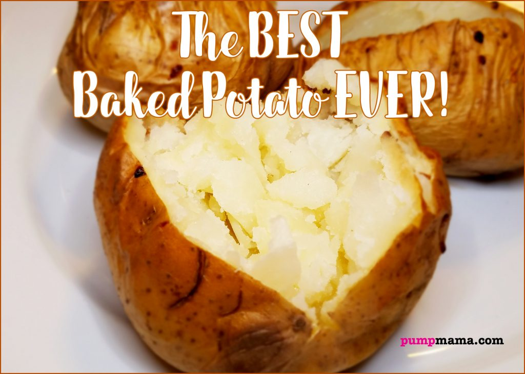 pump mama has discovered the best baked potato recipe ever from atk americas test kitchen - Americas Test Kitchen Baked Potato